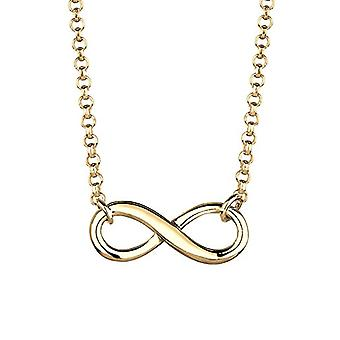 Elli Necklace with Women's Heart in Silver 925 - Gold Plated