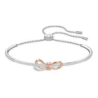 Bracelet rigide Swarovski Lifelong Bow - Blanc - Mixed Tackle