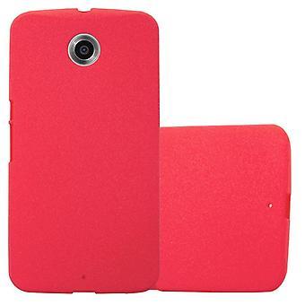 Cadorabo Case voor Motorola NEXUS 6 case cover - Mobile TPU Siliconen Telefoon Case - Siliconen case Ultra Slim Soft Back Cover Case Bumper