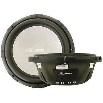 1 piece Almani S3F-12 double, subwoofer, 1000 watt Max, new
