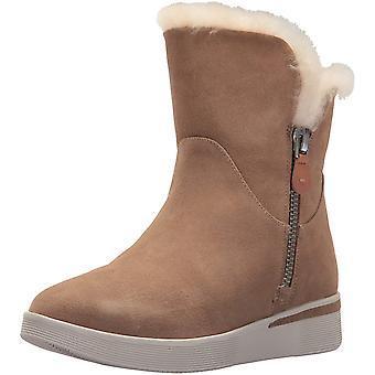Gentle Souls Women's Hazel-Levitt Sneaker Bootie Double Zip Shearling Ankle B...