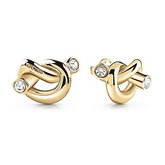 Guess Jewellery Knot Stud Gold Earrings UBE29013