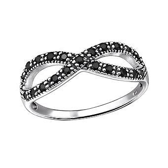 Infinity - 925 Sterling Zilver Jewelled ringen - W31584x
