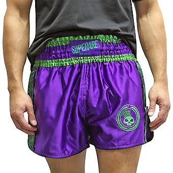 Superare Gamma Muay Thai Shorts - Viola/Verde
