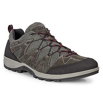 Ecco Mens Yura Gore-Tex Escursioni impermeabili in pelle da passeggio Scarpe da passeggio
