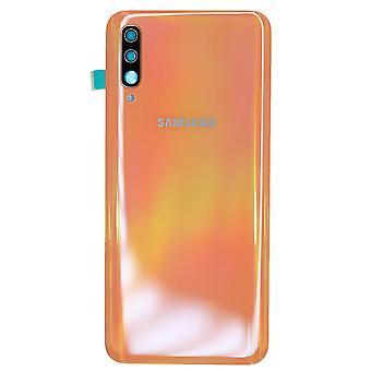 Koraal/oranje batterij cover voor Samsung Galaxy A50