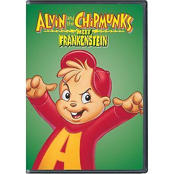 Alvin & gjengen møter Frankenstein [DVD] USA importere