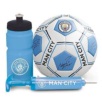 Manchester City FC Signature print fodbold gave sæt