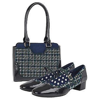 Ruby shoo vrouwen ' s Jolene lage hak Bar schoenen & bijpassende Tunis tas