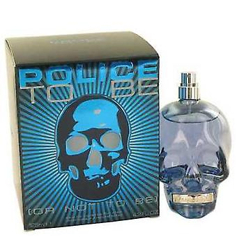 Police To Be Or Not To Be By Police Colognes Eau De Toilette Spray 4.2 Oz (men) V728-496862