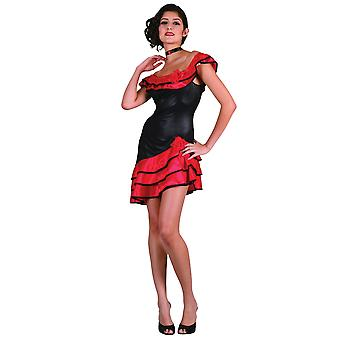 Bristol Novelty Womens/Ladies Spanish Dress Costume