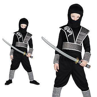 Ninjakostüm Ninja Japan fighter costume for children