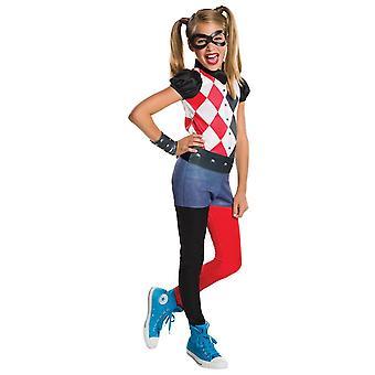Rubiineja Harley Quinn puku Fancy Dress-haalareita Set