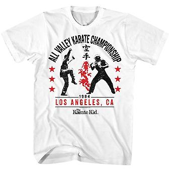 American Classics Karate Kid All Valley '84 T-Shirt - weiß
