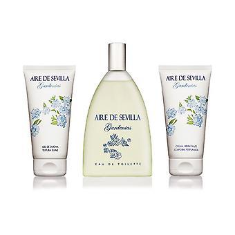 Damen's Parfüm Set Gardenia Aire Sevilla (3 Stück)