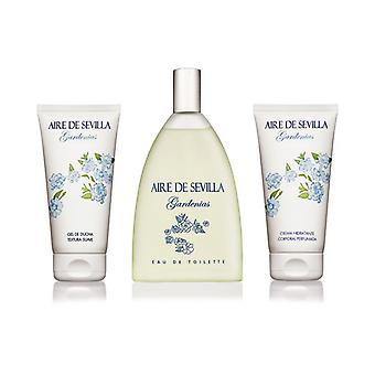 Women's Perfume Set Gardenia Aire Sevilla (3 uds)