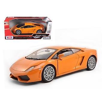 Lamborghini LP 560-4 Orange 1/18 Diecast Car Model by Motormax