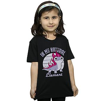 Disney Girls Frozen 2 Salamander Bruni Element T-Shirt