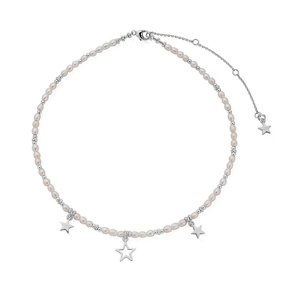 ChloBo Silver & Pearl Life Long Magic Necklace