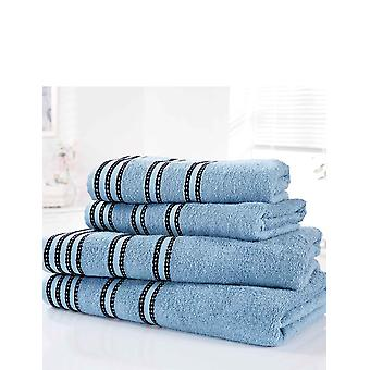 Rapport Sirocco Striped Towel Pack Of 2