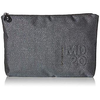 Mandarin Duck Md20 Lux Minuteria Black Women's Day Pochette (Titanium) 28.5x19x4cm (W x H x L)