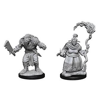 Pathfinder Deep Cuts Unpainted Miniatures Bugbears (Pack of 6)