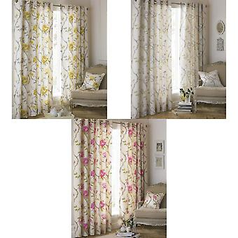 Riva Home Rosemoor Eyelet Curtains