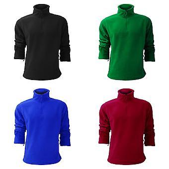 Russell Mens 1/4 Zip Outdoor Fleece Top