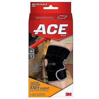 Ace knee support, moderate, adjustable, 1 ea