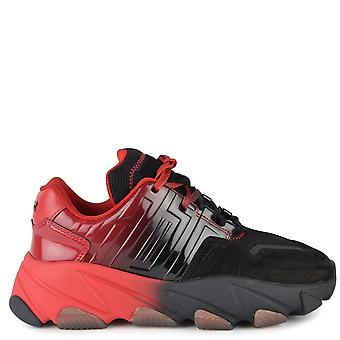 Ash EXTASY Trainers Red & Black Mesh