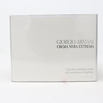 Giorgio Armani Crema Nera Extrema Supreme Reviving Cream 1.69oz  New With Box