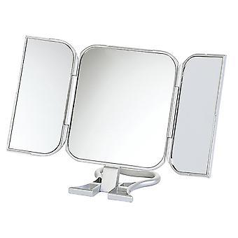 Danielle «Debut» autoportante ou main tenue voyage miroir - Silver