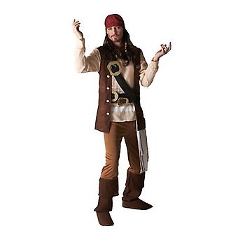 Adult Jack Sparrow. Size : Extra Large
