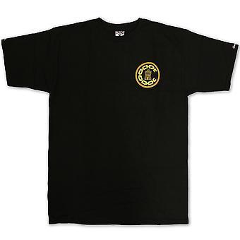 Bandidos & castelos bandidos básico t-shirt preto