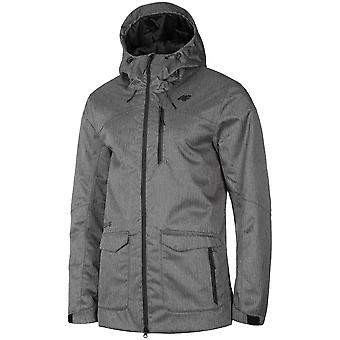 4F H4Z19 KUM006 Średni Szary Melanż H4Z19KUM006REDNISZARYMELAN universal winter men jackets