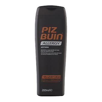 Sonnenlotion Allergie Piz Buin Spf 50 (200 ml)