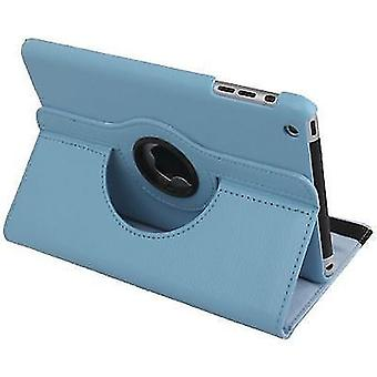 For iPad mini 1 / 2 / 3 Case, Durable High-Quality Leather Cover,Baby Blue