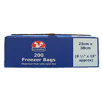 Kitchen King Catering Freezer Bags 23 x 38cm