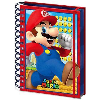 Super Mario 3D kansi A5 Notebook