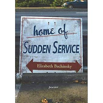 Home of Sudden Service: Poems