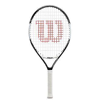 Wilson Roger Federer Junior Kids Tennis Racket Racquet Black/White