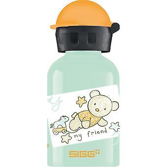 Sigg Alu Bear Ystävä eristämätön vesipullo (0.3L)
