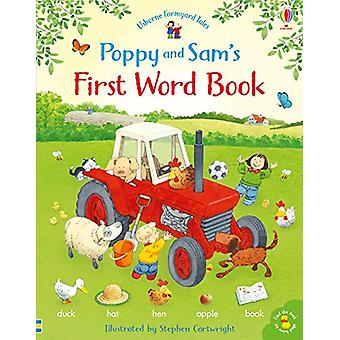 Poppy and Sam's First Word Book by Heather Amery - 9781474952743 Book