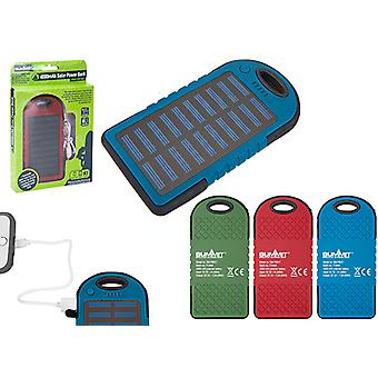 Summit 4000mAh Solar Power Bank - 1 Unit Green Power Bank