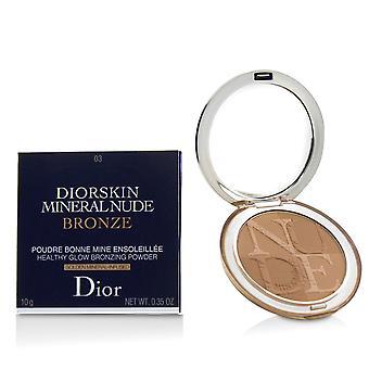 Diorskin minerální nahý nahý zdravý lesk bronzování prášek # 03 měkké západ slunce 227940 10g/0.35oz