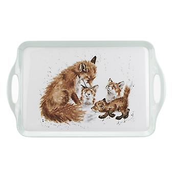 Wrendale Designs Foxes Large Tray