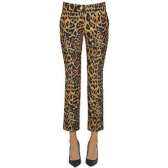 Pantalon en laine beige Paco Rabanne Ezgl246005 Femmes