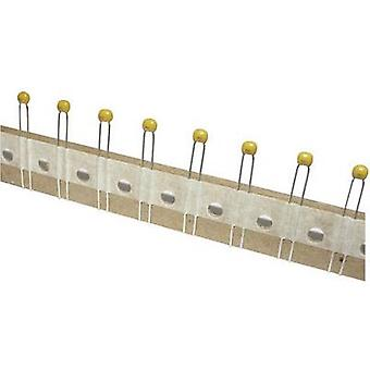 TANCAP CC4-0805N101J101A1T Ceramic capacitor THT 100 pF 100 V 5 % (W x H) 4.2 mm x 25 mm 1 pc(s)