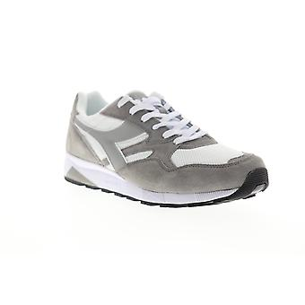 Diadora N902 S Mens Gray Mesh Lace Up Low Top Sneakers Shoes