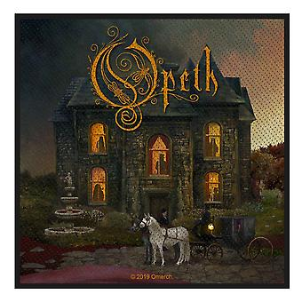 Opeth Patch In Caude Venenum Band Logo new Official Woven (10cm x 10cm)